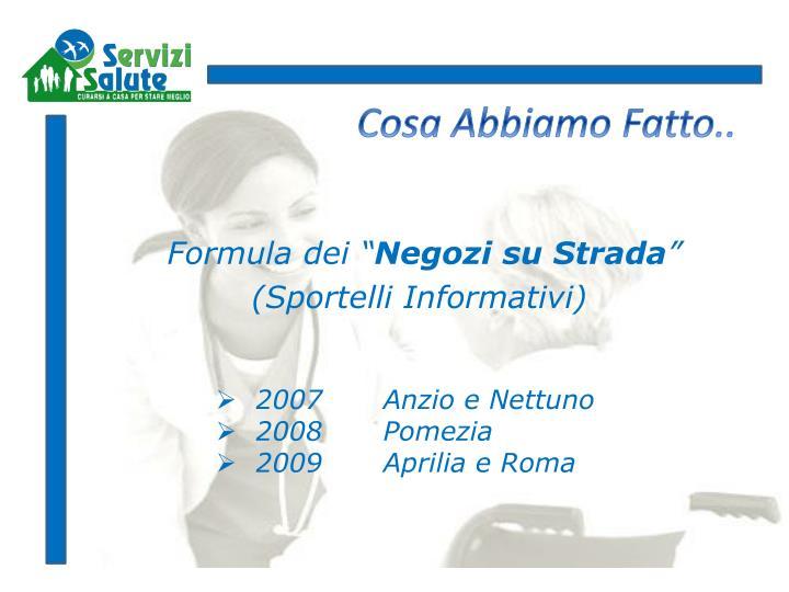 "Formula dei """