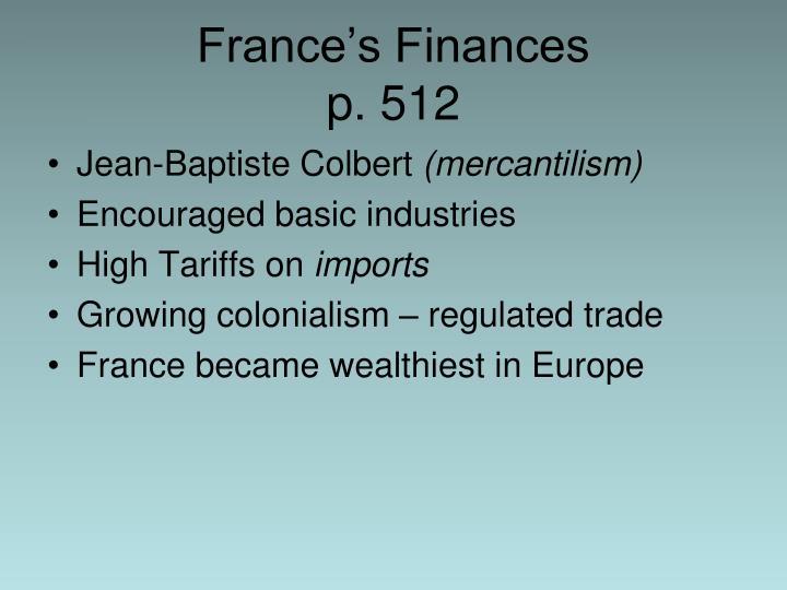 France's Finances
