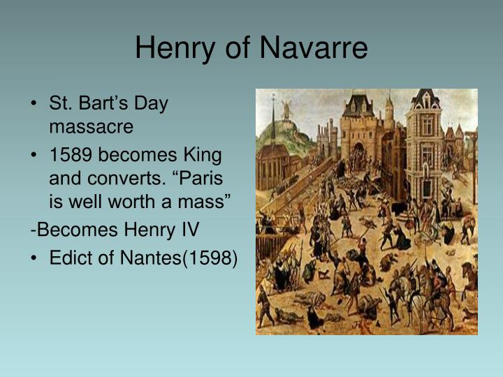 St. Bart's Day massacre