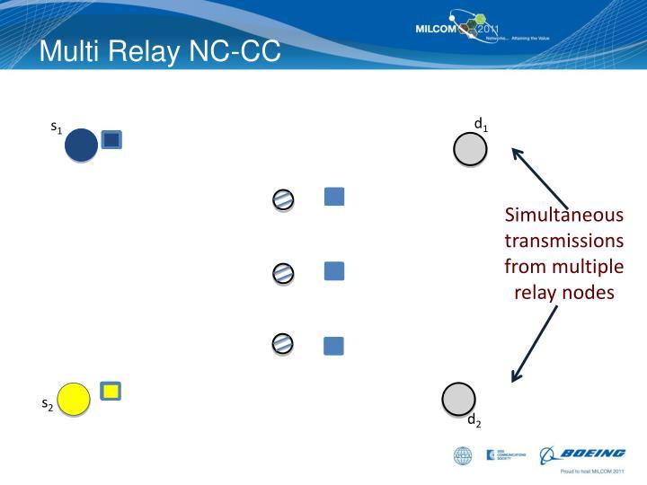 Multi Relay NC-CC