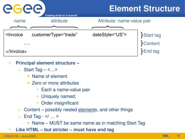 Element Structure