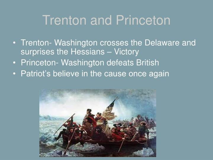 Trenton and Princeton