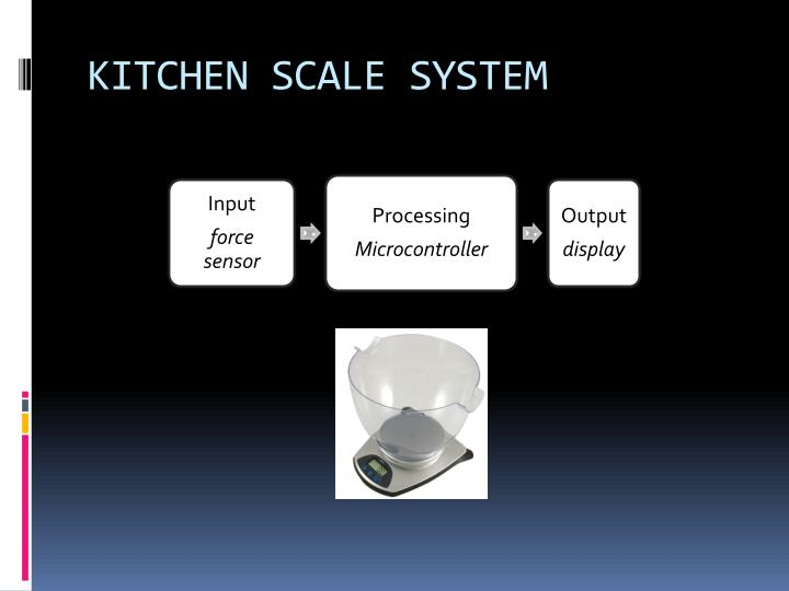 KITCHEN SCALE SYSTEM
