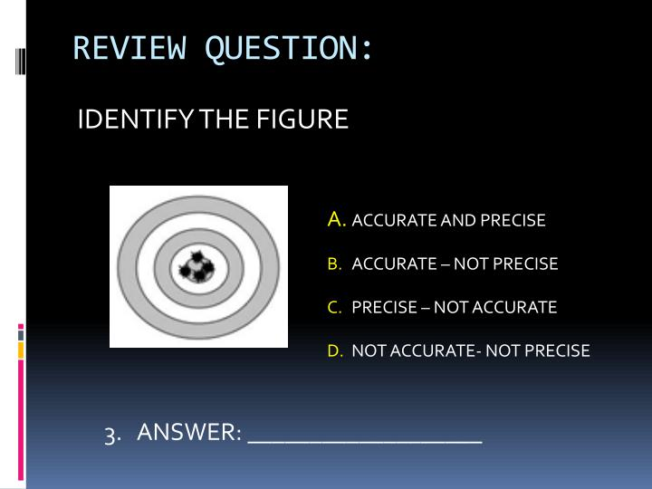 REVIEW QUESTION: