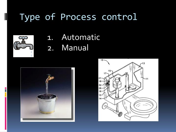 Type of Process control