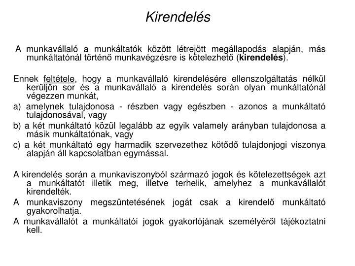 Kirendels
