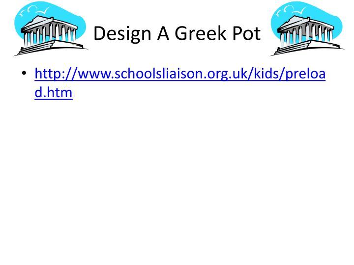 Design A Greek Pot
