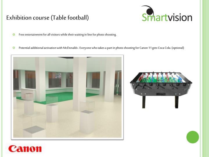 Exhibition course