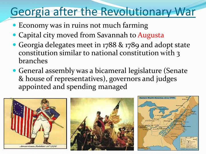 Georgia after the Revolutionary War