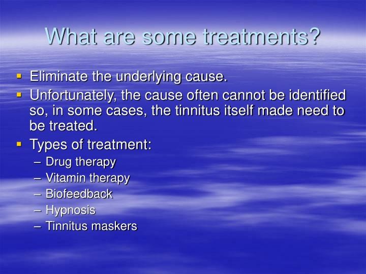 What are some treatments?