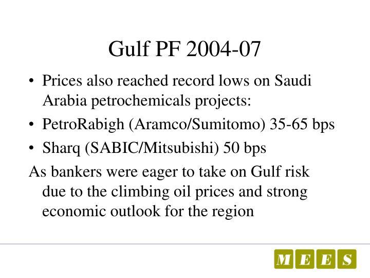 Gulf PF 2004-07