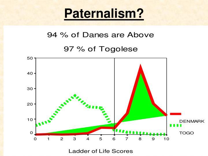 Paternalism?