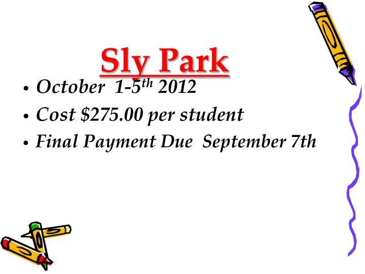 Sly Park