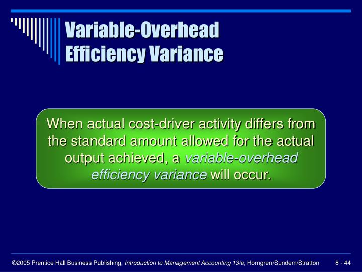 Variable-Overhead