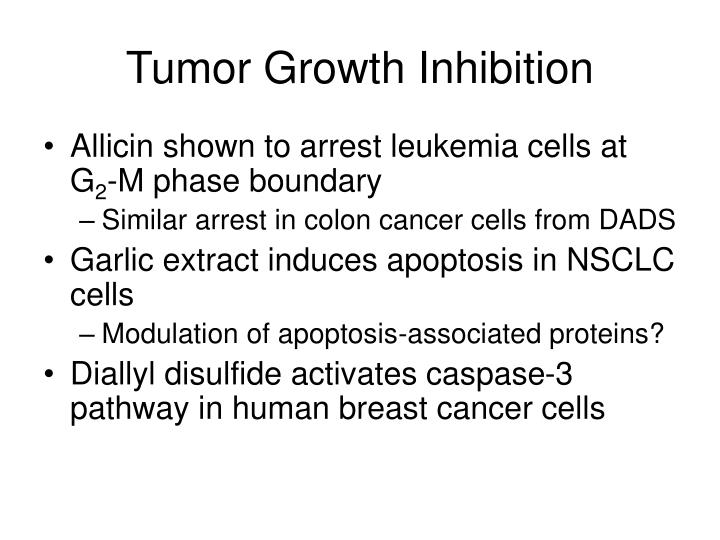 Tumor Growth Inhibition