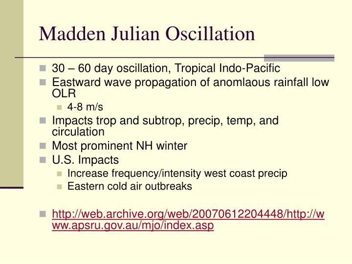 madden julian oscillation atlantic hurricane relationship quiz