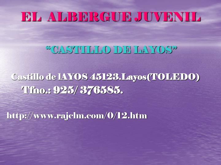 EL  ALBERGUE JUVENIL