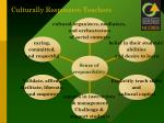 culturally responsive teachers
