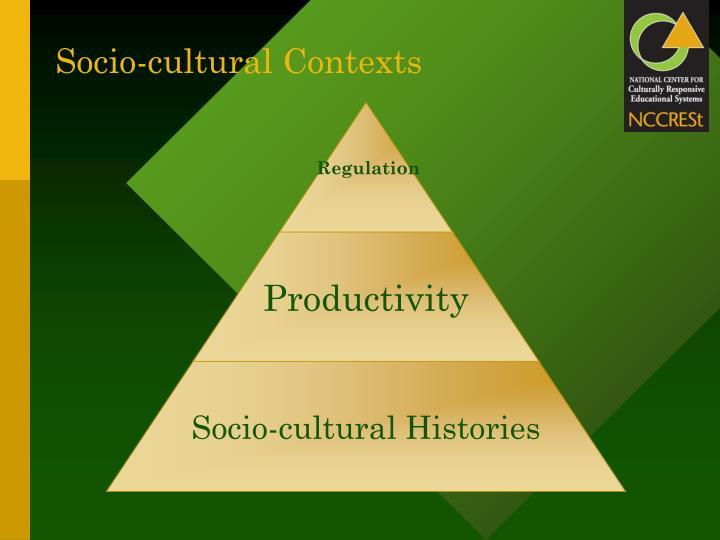 Socio-cultural Contexts