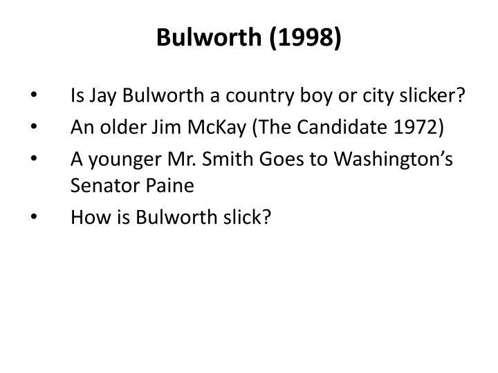 Bulworth (1998)