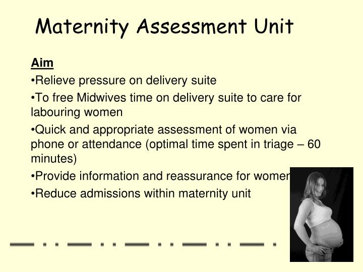 Maternity assessment unit2