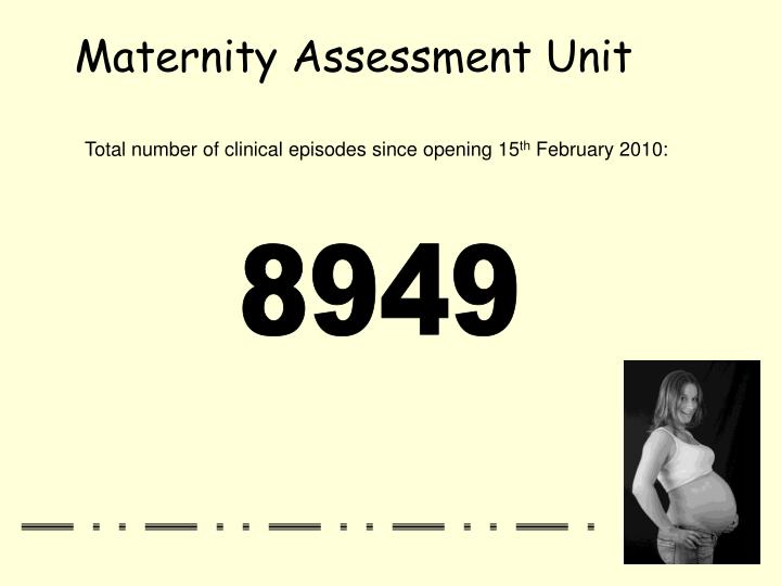 Total number of clinical episodes since opening 15