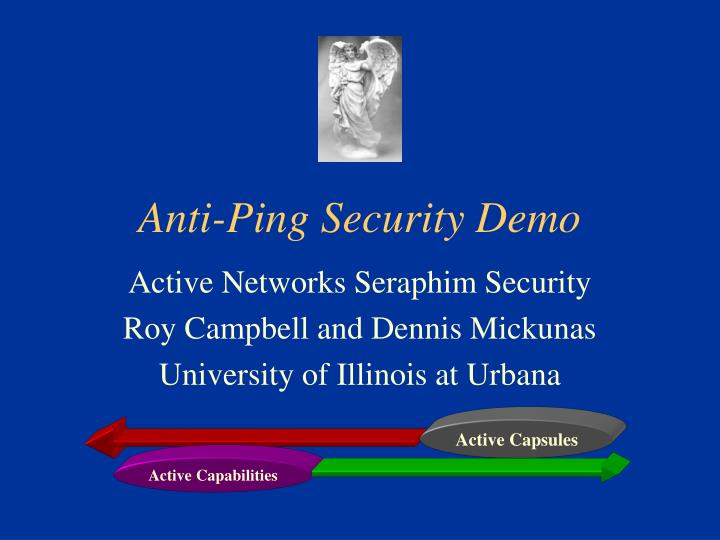 Anti ping security demo