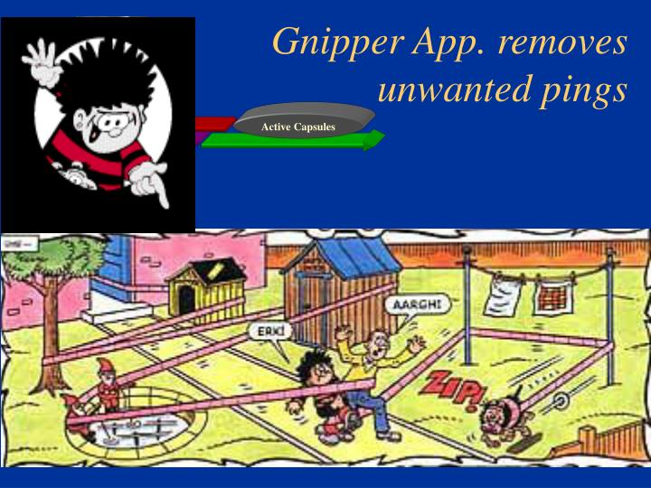 Gnipper App. removes