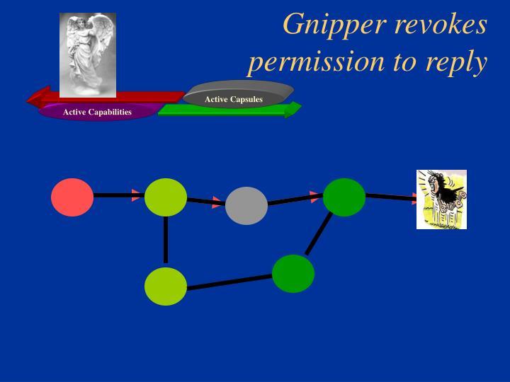 Gnipper revokes