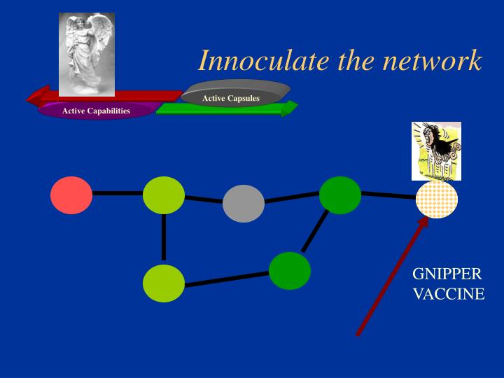 Innoculate the network