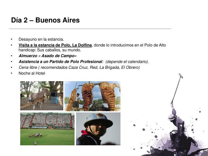 Día 2 – Buenos Aires