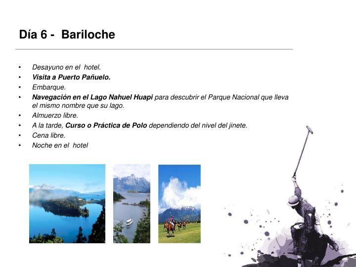 Día 6 -  Bariloche