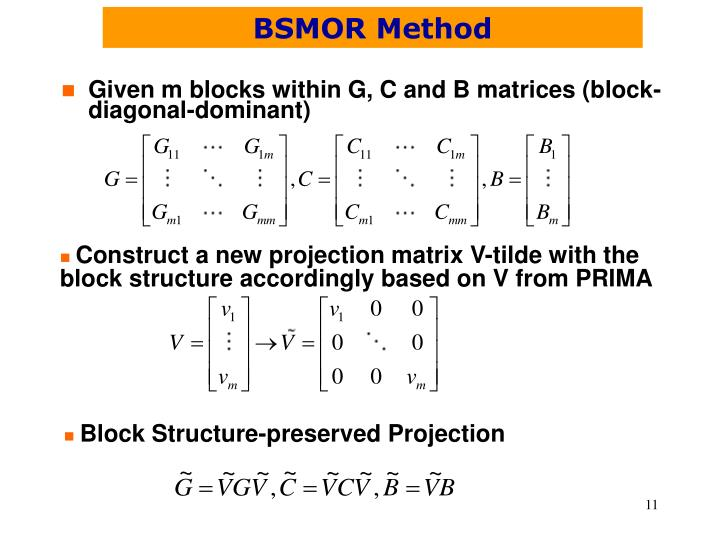 BSMOR Method