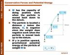 conservative forces and potential energy1