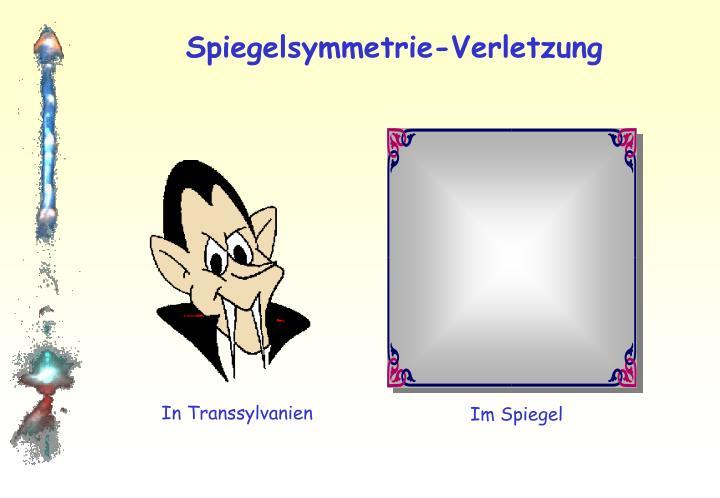 Spiegelsymmetrie-Verletzung