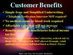 customer benefits1