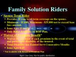 family solution riders1