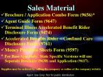 sales material1