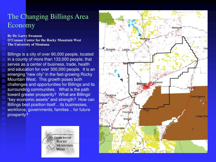 The Changing Billings Area Economy