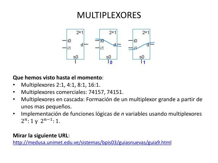 MULTIPLEXORES