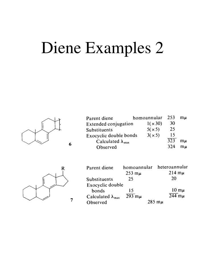 Diene Examples 2