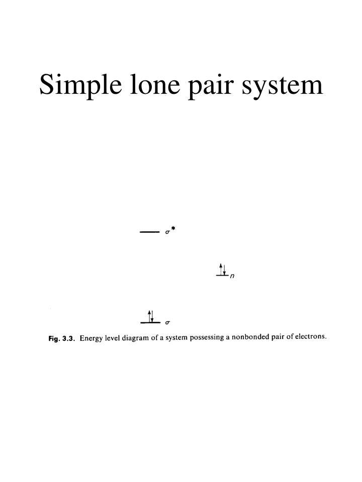 Simple lone pair system