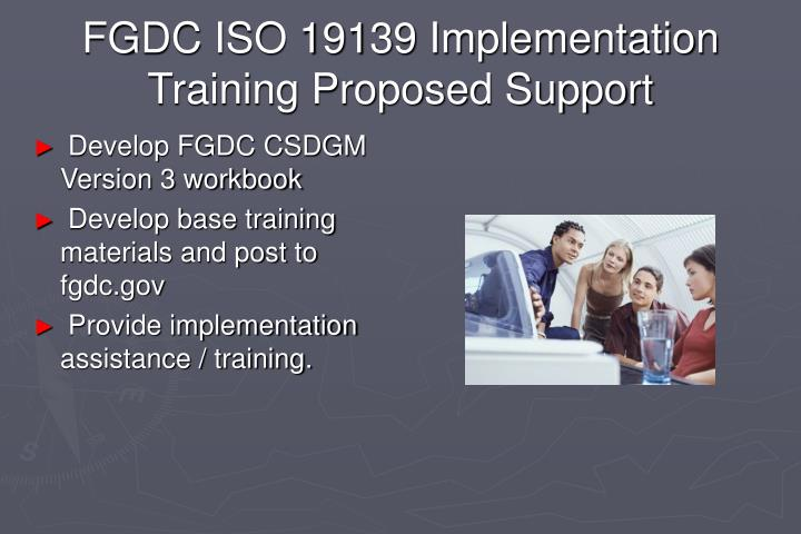 FGDC ISO 19139 Implementation
