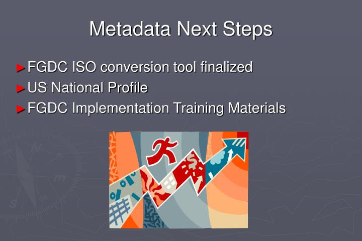 Metadata Next Steps