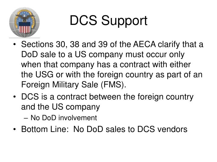 DCS Support
