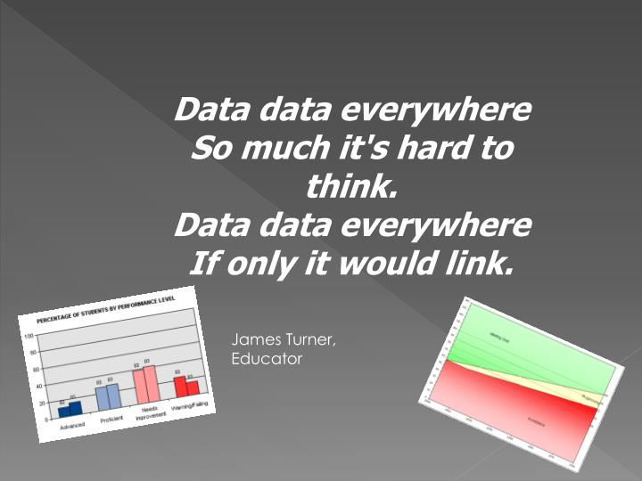 Data data everywhere