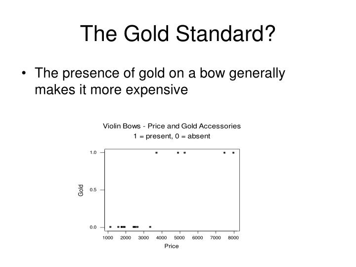 The Gold Standard?