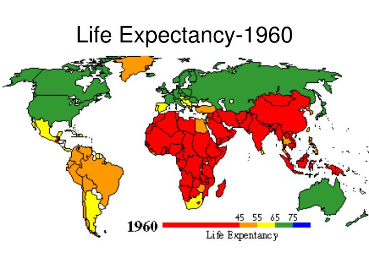 Life Expectancy-1960