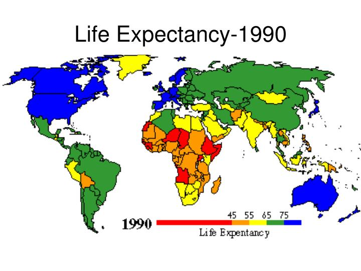 Life Expectancy-1990