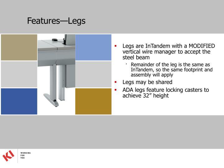 Features—Legs